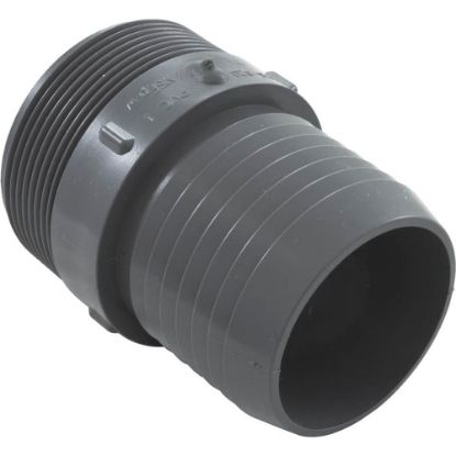 "1436-020 Barb Adapter, Lasco, 2"" Male Pipe Thread x 2"" Barb, PVC replaces 1436020, 68123, 7250-0, LAS-56-4559"
