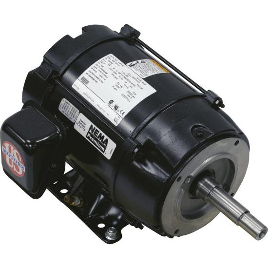 357068S Motor, USMotor, 5.0hp, 208v-230v/460v, 3ph, 1-Spd, EQ Series, Pool replaces 600345, BU81, DJ5P1AZ