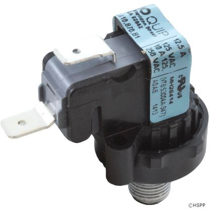 "Vacuum Switch, Hydro-Quip, 1A, 1/8"" Male Pipe Thread"