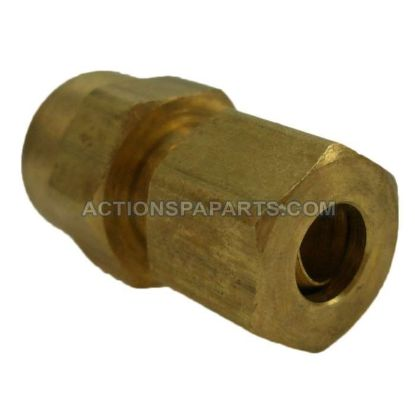 "Compression Fitting, 1/8"" FIP x 1/4"" Tube"
