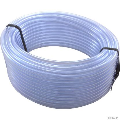 "Air/Water Tubing, Vinyl, 1/4""id x 3/8""od, 100ft Roll"