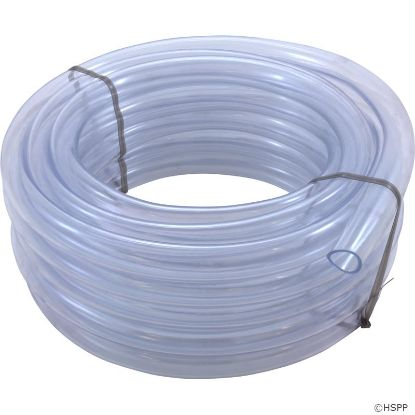 "Air/Water Tubing, Vinyl, 1""id x 1-1/4""od, 50ft Roll"