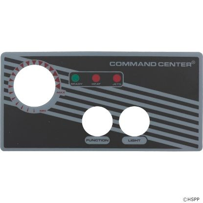 Overlay, Tecmark Command Center, 2 Button