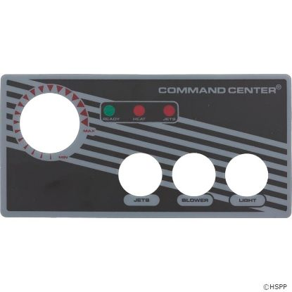 Overlay, Tecmark Command Center, 3 Button