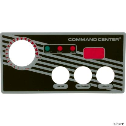 Overlay, Tecmark Digital Command Center, 3 Button
