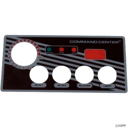 Overlay, Tecmark Digital Command Center, 4 Button