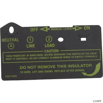 Timer Insulator Protector, Intermatic, Short