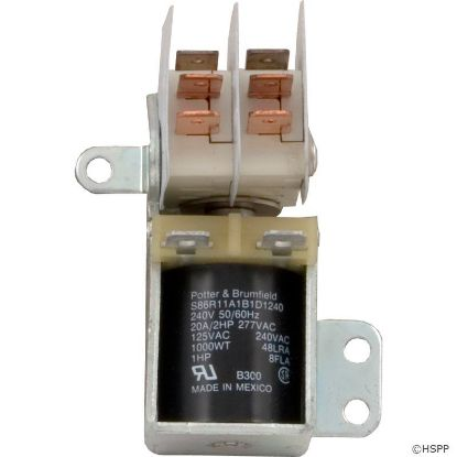 Relay, P and B, S86R11, DPDT, 230v
