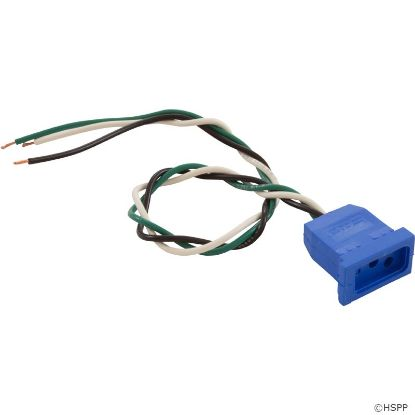 Receptacle, Circulation Pump, H-Q, Molded, Blue, 18/3