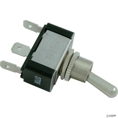 Toggle Switch, Single Pole Double Throw, 115v