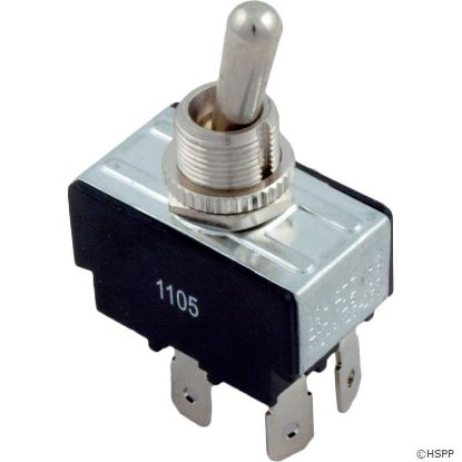 Toggle Switch, DPST, 230v