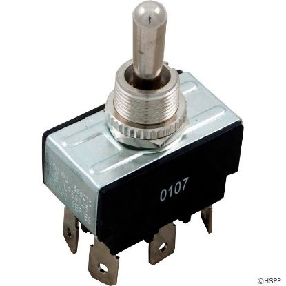 Toggle Switch, DPDT, Center Off