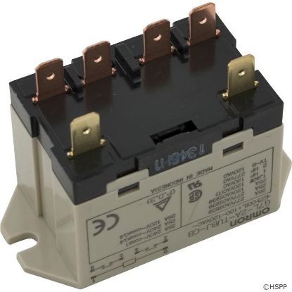 Relay, Omron, DPST, 25A, 115v, Coil