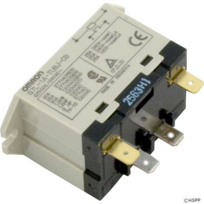 Relay, Omron, SPST, 30A, 24vac