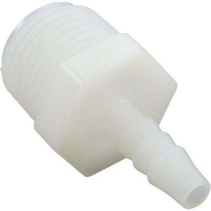"61132 Barb Adapter, 1/4"" Barb x 1/2"" Male Pipe Thread, Nylon replaces 608031, 7241-0"
