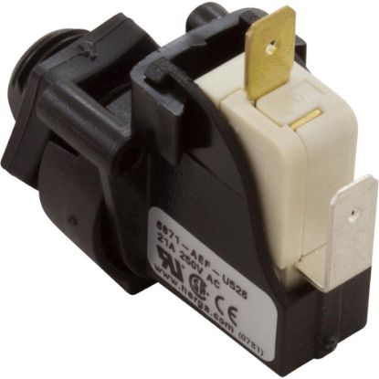 6871-AEF-U526 Air Switch, Latching, 9/16-18 Thread W.Retaining W/Nut. replaces 5191-09, 958012