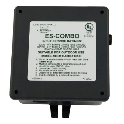 923100-001 Air Switch, Len Gordon ES, 115v/230v, 20A replaces 584392090, 611459, 923100001, 9247-0, LEN-85-8125