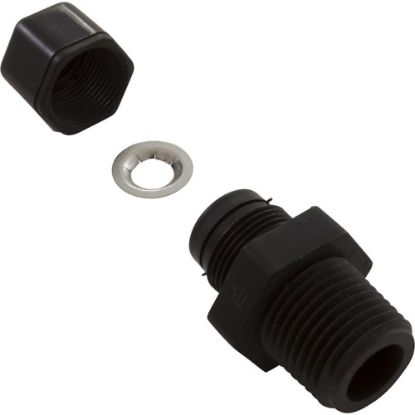 "F215 Tube Connecter, Aquasol Controllers, 1/2"" MNPT x 3/8"" Tube replaces 2405-289, 622967"