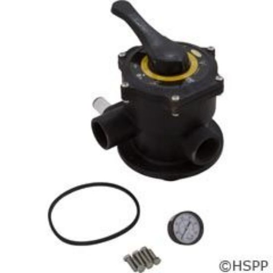 Picture of 39-2628-03-R: Multiport Valve Kit, Carvin Jacuzzi DVK7, 1-1/2