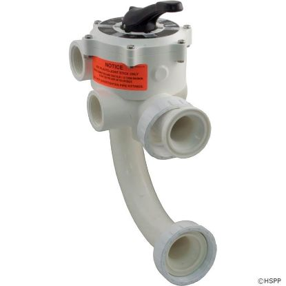 "Picture of 18202-0150: Multiport Valve, Pentair Sta-Rite, 1-1/2"", 6 Pos"