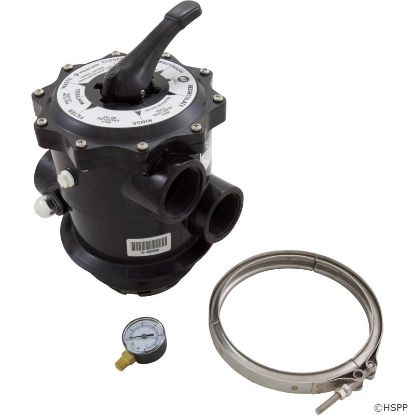 "Picture of 261185: Multiport Valve, Pentair Tagelus TA 100D, 2"", 6 Position"