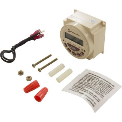 PB314EK Electronic 24Hr 240 Vac Replacement Clock Kit for PB Clock replaces 317072, INT-30-807, INT-30-808