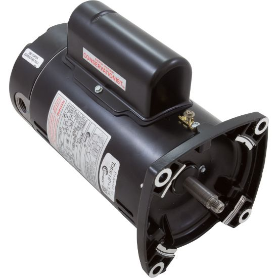 QC1072 Motor, Century, 0.75hp, 115v/230v, 1-Spd, 48Yfr, SQFL, Full replaces 5321-1, 620058, AOS-60-5215