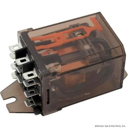 RM703-006 Relay, Schrack, 3PDT, 15A, 6vdc, Dustcover replaces 08H3533, 611477, RM703-006