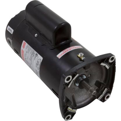 SQS1102R Motor, AO Smith, 1.0hp, 230v, 2-Spd, 48Yfr, SQFL, EE replaces 5281-1, 620104, AOS-60-5221
