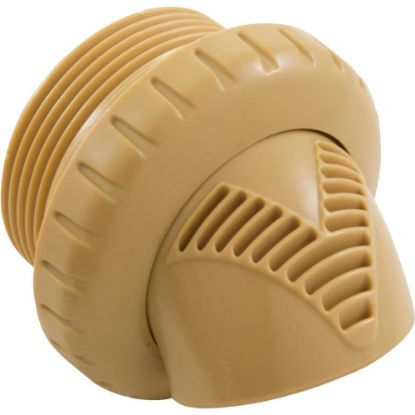 "VRFTHTN Inlet Fitting, Infusion Venturi, 1-1/2""mpt, Tan replaces 3716-006"